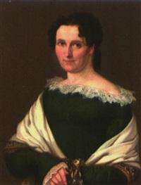 portrait der dorothea thieme, geb. ziesebar, gattin des generalkonsuls und bankiers konrad august thieme by gustav adolph henning