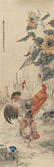 花鸟 by liu kuiling