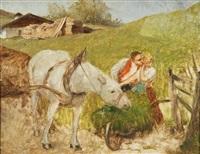 contadini innamorati by julius von blass