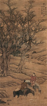 horses by guan xining