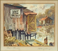 bayou shacks by charles oglesby longabaugh