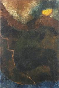 untitled (metascape) by akbar padamsee