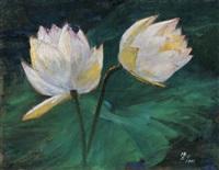 two lotus by xu jianbai