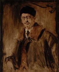 porträt des dr. georg heim, regensburg by leo samberger