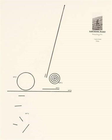 dartmoor walks 1969 1972 by richard long