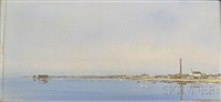 provincetown harbor by anne packard
