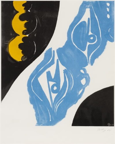 offset nor by ernst wilhelm nay