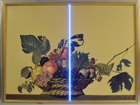 still life (2 panels) by miroslav antic