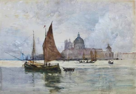 doges palace venice by robert weir allan