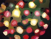 holiday colored lanterns by qi peng