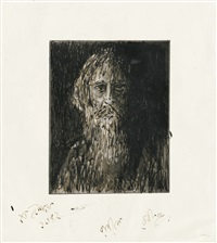 untitled (self portrait) by rabindranath tagore