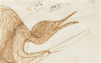 untitled (bird) by rabindranath tagore
