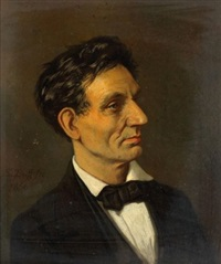 portrait d'abraham lincoln by sebastian buff