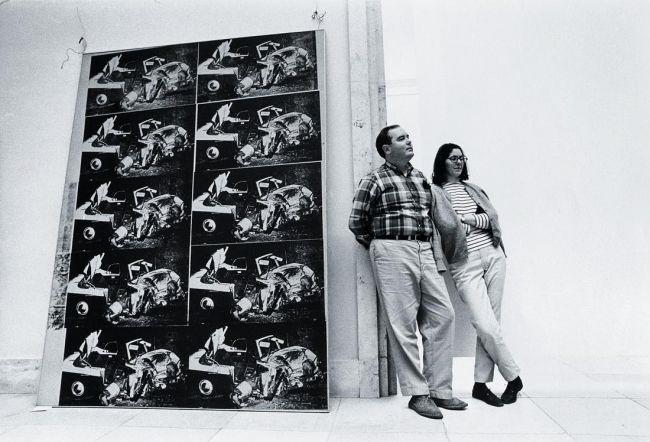 Dan Haus dan flavin 14 juni 1968 haus der kunst by stefan moses on artnet