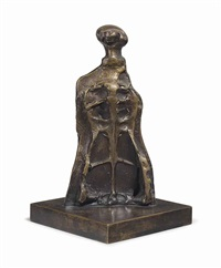 skeleton figure by henry moore