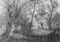 landschaft bei dachau by daniel-jules-camille koechlin