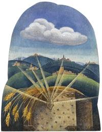 la battaglia del grano by gerardo dottori
