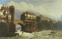 old london bridge by joseph josiah dodd