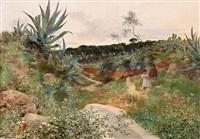 paisaje de alcalá de guadaíra by josé pinelo llull