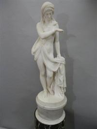 figure of a greek slave by scipione tadolini
