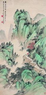landscape by xu xiaocun