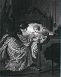moder kommer med suppe til det syge barn by b. merole