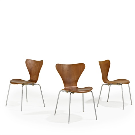 severn side chairs 3 works by arne jacobsen