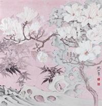 花卉 by mo xiaosong