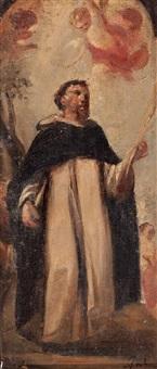 santo dominico by antonio caba y casamityana