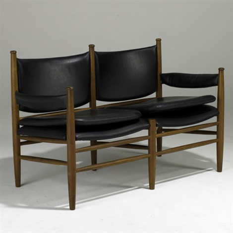two seat settee by kristian solmer vedel