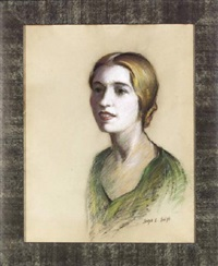 portrait of rosalie roos by joseph e. smith