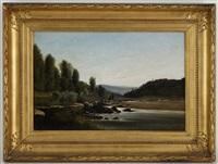 le barage du moulin de pont-d'ain by horace-antoine fonville