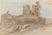 scarborough castle by john constable