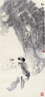 千里共婵娟 (character) by ma xiguang
