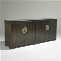 Far East Four Door Cabinet, USA, 1960u20131969