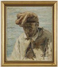 il pescatore centenario della riviera ligure by antonio piatti