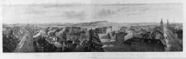 panorama von bern vom käfigturm aus by rudolf huber