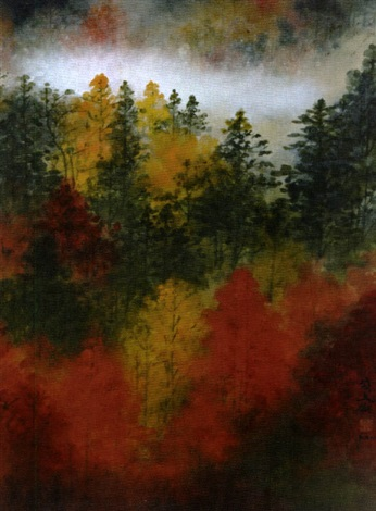 untitled fall foliage by diana kan