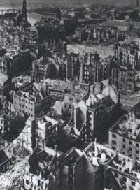 dresden, blick vom rathausturm by richard peter sr.