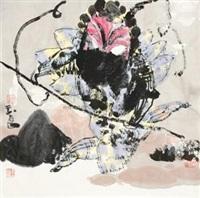 中国戏 (figure) by guan yuliang