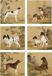 ten dogs (set of 6) by yong tai
