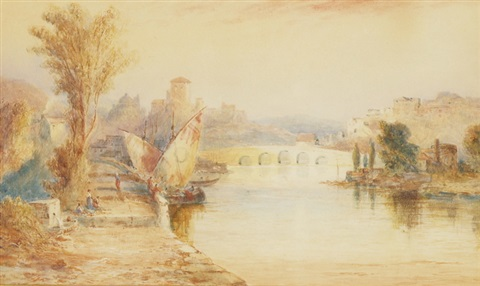 italienische landschaft by joseph mallord william turner
