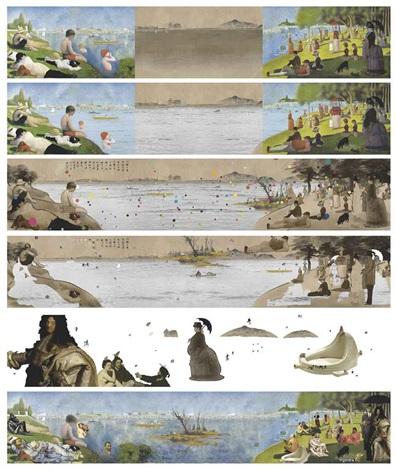 Crossover Georges Pierre Seurat 3 works by Lee Lee Nam on artnet
