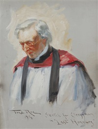 sketch for clergyman
