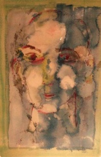 blue face by henry miller
