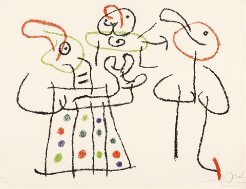 pl27 from ubu aux baleares sold with 134b set of 2 by joan miró