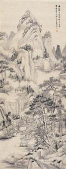 春山烟雨 by dai yiheng