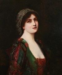 portrait of a beauty by abbey altson