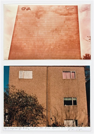 2 way mirror office building los angeles apartment houses vancouver canada diptych by dan graham