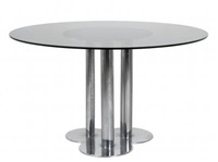 un tavolo trifoglio by sergio asti